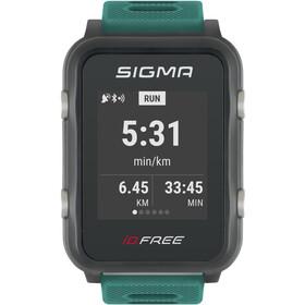 SIGMA SPORT iD.FREE Multisport-Uhr grün/grau
